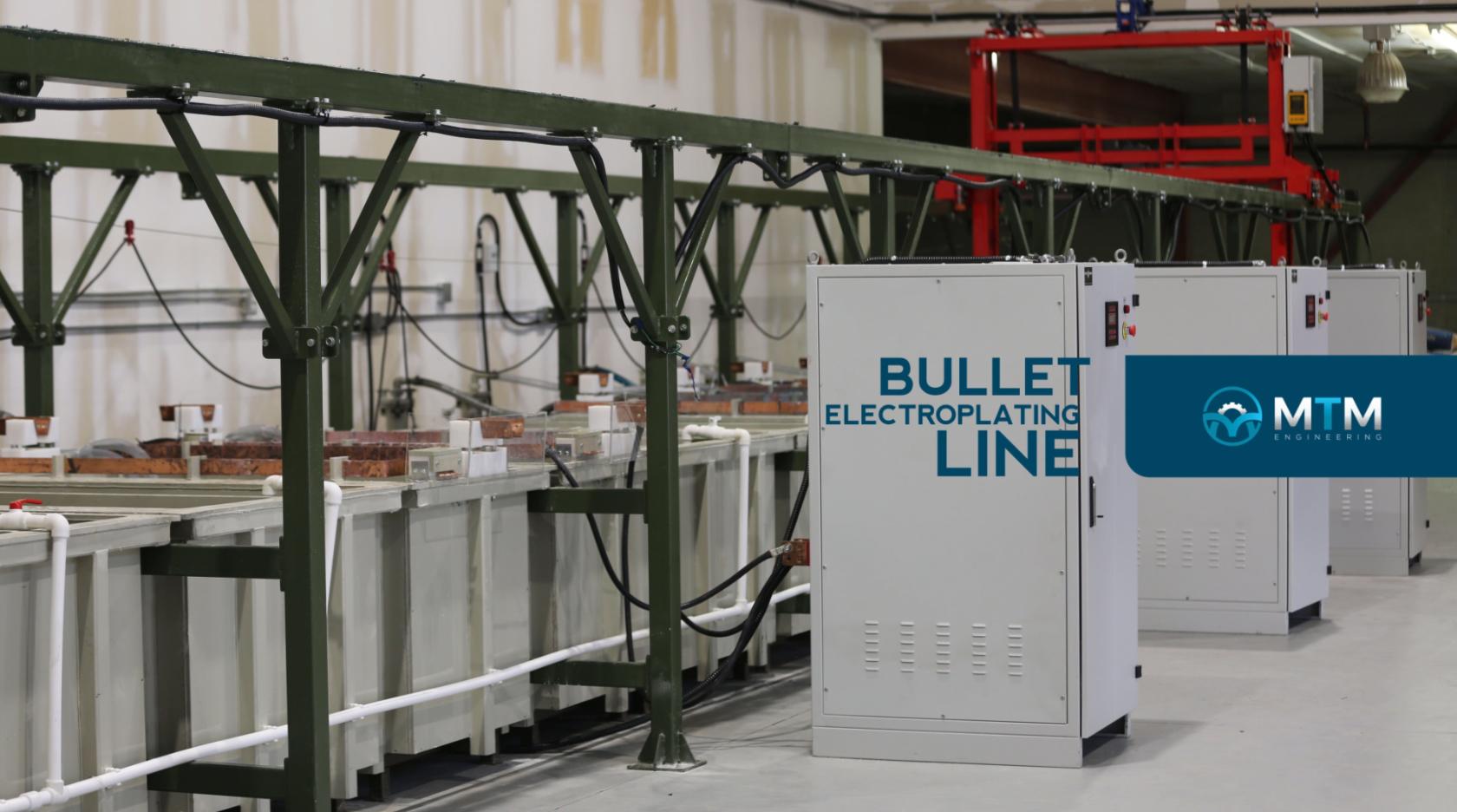 Bullet Electroplating Line